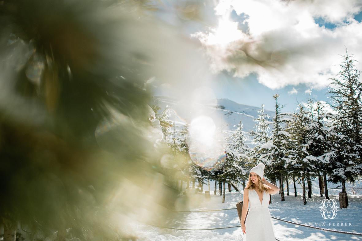 Postboda en sierra nevada granada fotografos boda novios