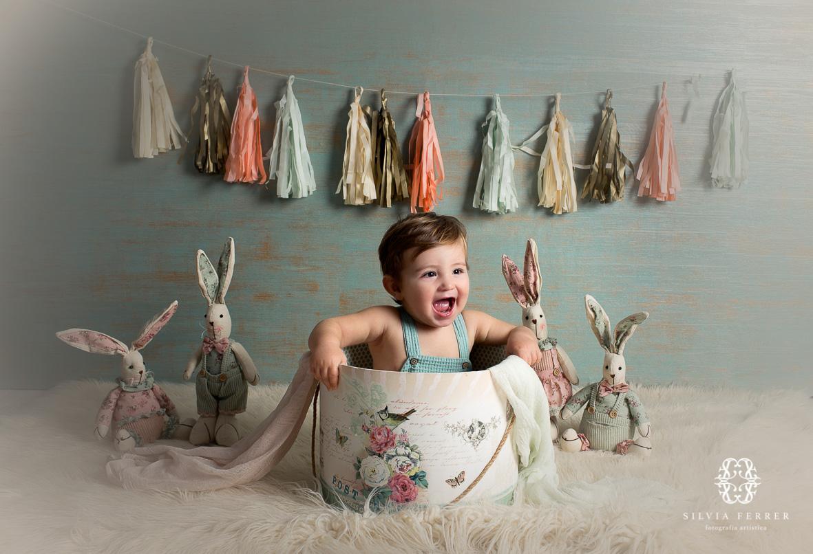 fotos bebes murcia fotografia infantil 12 meses 1 año estudio atrezzo