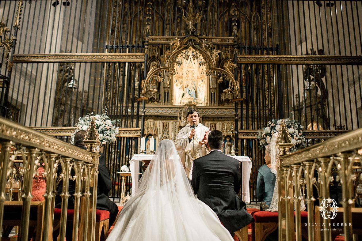 boda altar mayor catedral de murcia