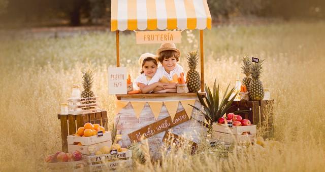 La frutería + sesiones infantiles en el campo + Silvia Ferrer.