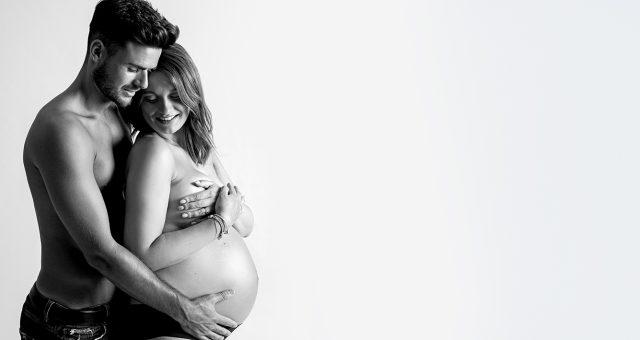 Sesión de fotos premamá + fotos de embarazo en pareja + Silvia Ferrer.