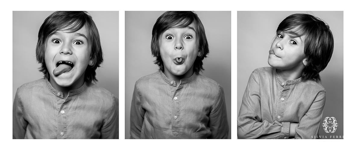 expresiones infantiles lengua fuera