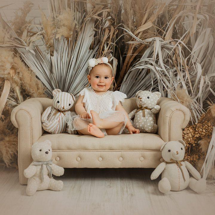 Claudia + Seguimiento primer añito + Fotos de bebés en Murcia.