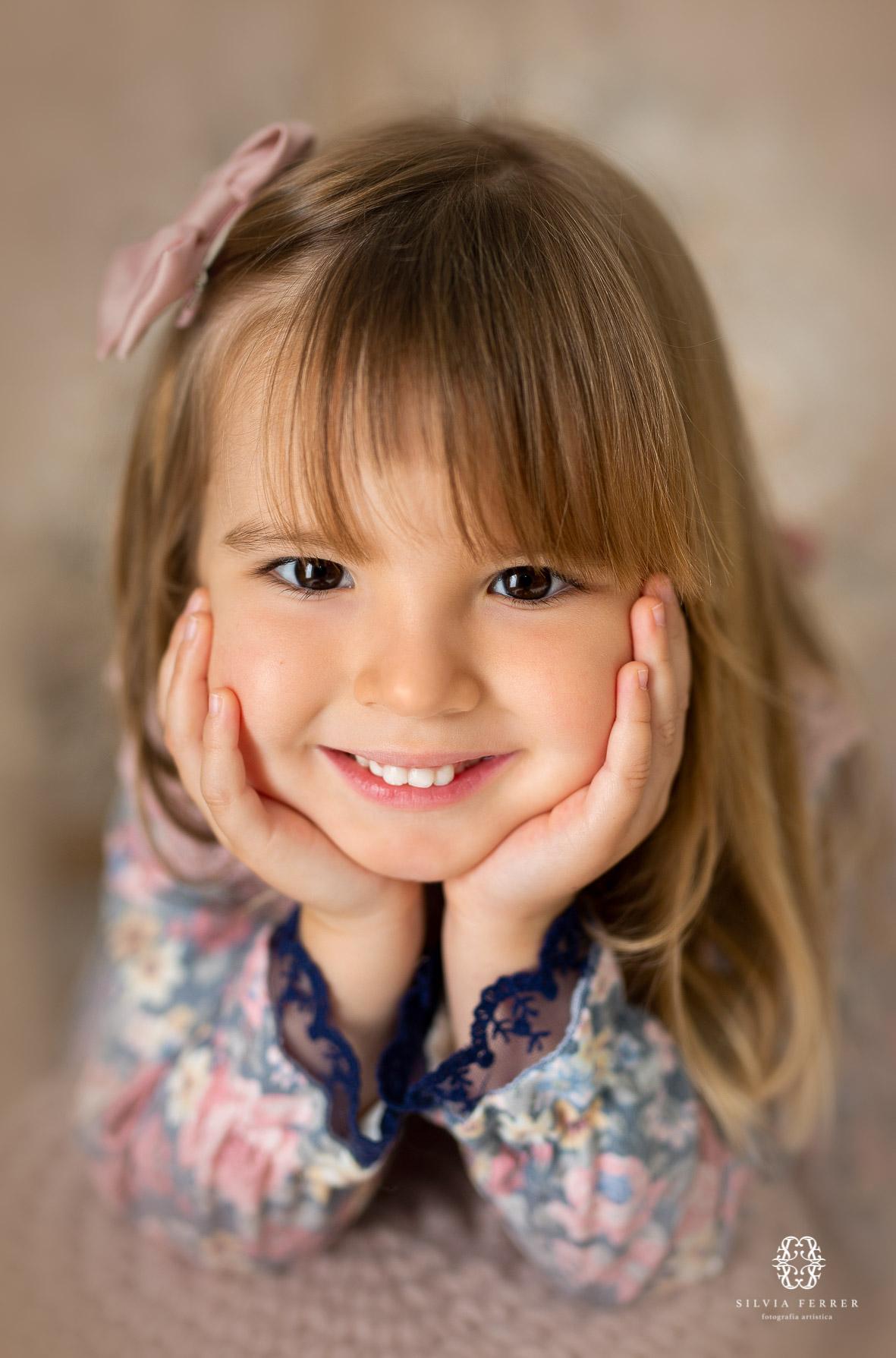 fotos de estudio para niñas de 3 años